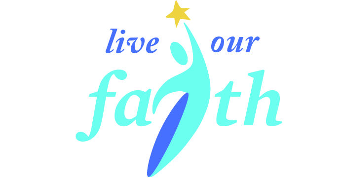 Live Our Faith Logo