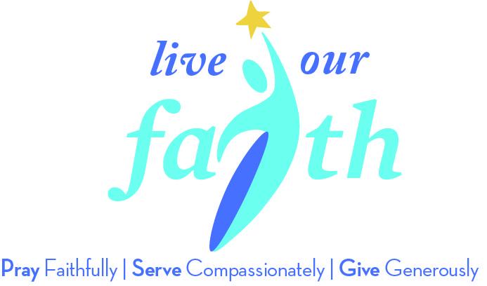 Live Our Faith Logo