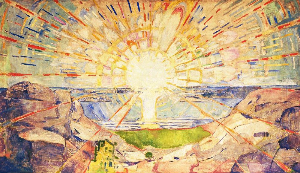 Sun_Edvard Munch 1909 Norwegian