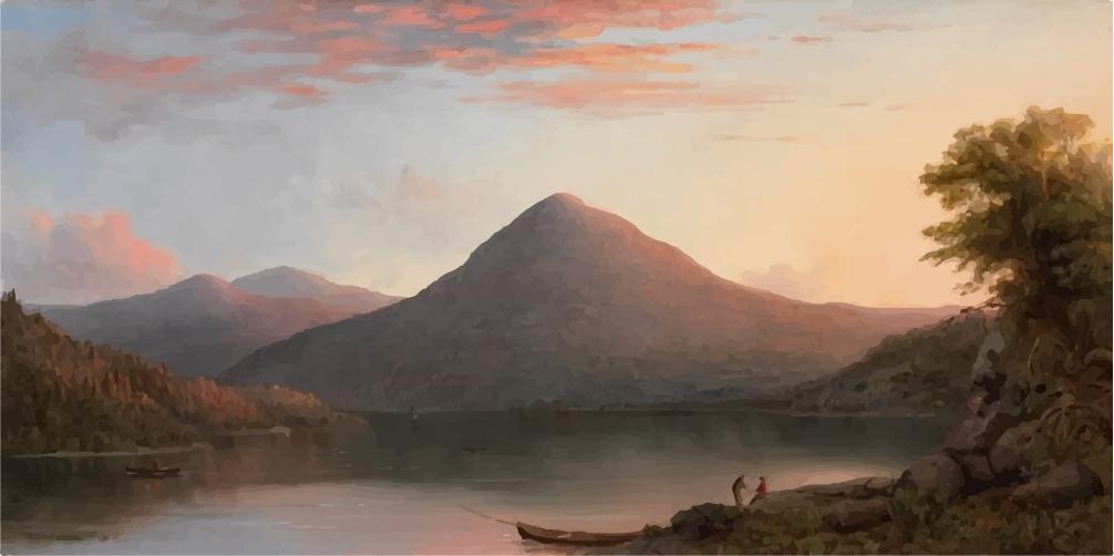 Robert S. Duncanson, Owl's Head Mountain, 1864